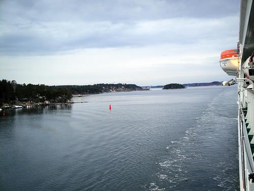 starboard side.