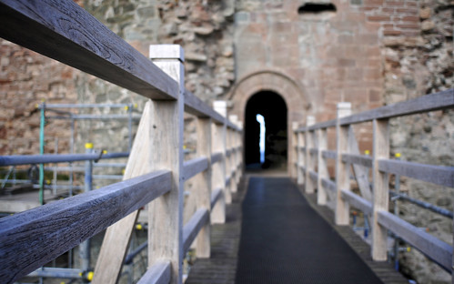 Entrance To Tantallon Castle