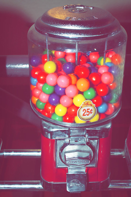 Day 218 - Bubble Gum Machine