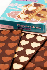 chocolate hearts 1615 R 1