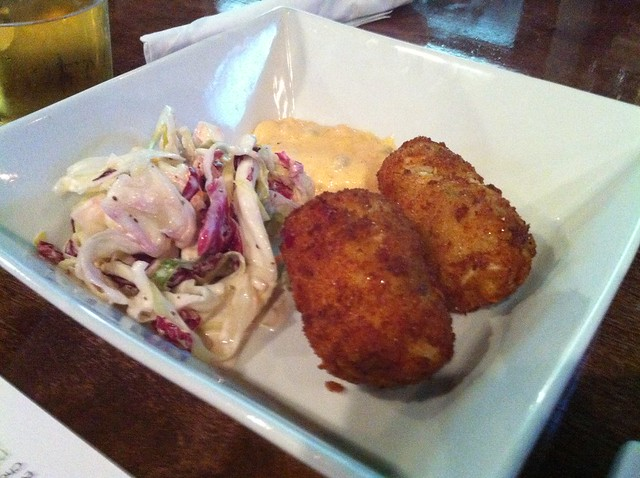 Deviled crab cakes from Sweet Grass Next Door, Memphis, Tenn.