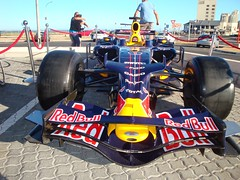 F1 Red Bull at Petrol Station in Table View, r...