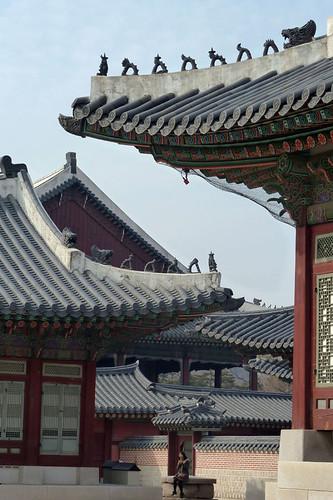 Roofs of Gyeongbokgung