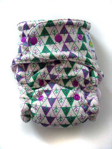 woodland organic diaper