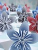 Paper Flowers Made From Security Envelopes Group 2