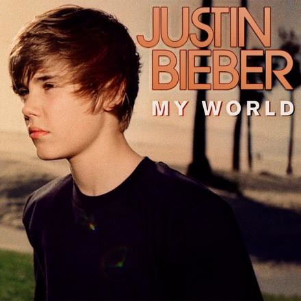justin bieber my world album art. justin bieber my world 2.0