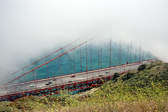 I hope I see more of the bridge this time! (pixelmama) Tags: ocean california sea clouds goldengatebridge sanfranciscocalifornia hss sliderssunday
