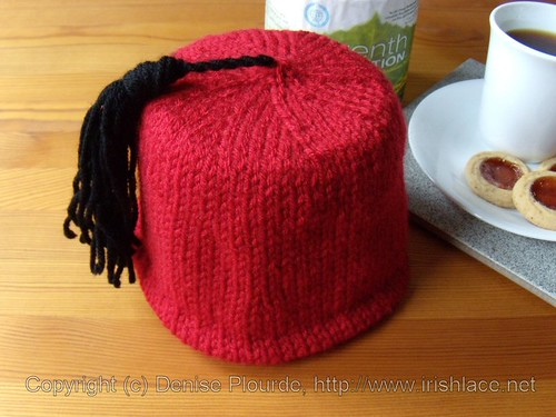 Fez Toilet Paper Roll Cover (Knit)