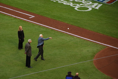 Ralph Kiner Ceremonial First Pitch