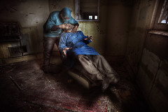AsyLuM DeNtiSt ::   ( explore  ) (andre govia.) Tags: house building abandoned strange buildings insane woods closed decay ghost down best andre haunted creepy explore horror ghosts mad sanatorium asylum ue urbex sanitarium asylums criminally sanatoriums govia exploreing