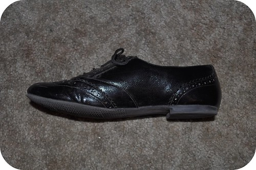 1:2 Black Oxford Shoes