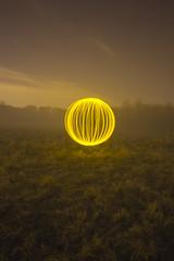 Orb in misty field (- Hob -) Tags: longexposure mist lightpainting raw led wirral lightsphere lapp singleexposure 光绘 lightjunkies 光の絵画 lightartperformancephotography wwwfacebookcompageslightpaintingorguk517424921642831