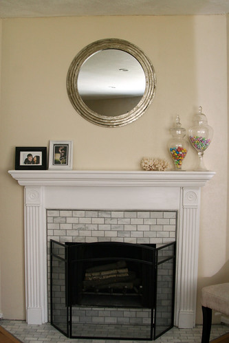 Fireplaceroundmirror