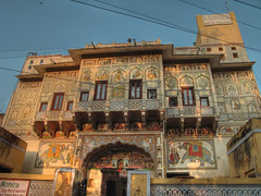 IMG_9453_4_5_tonemappé (xsalto) Tags: houses maisons painted inde mandawa peintes