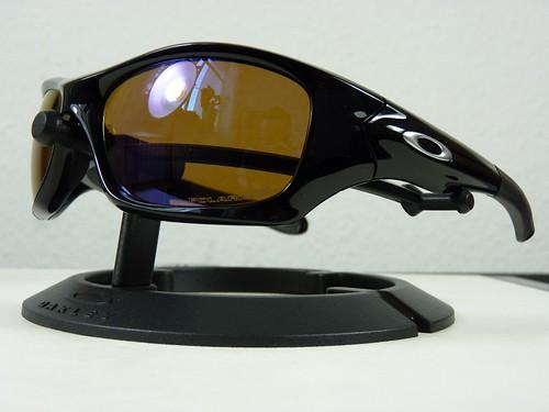 f769fb61f4cf Oakley Pit Bull Polished Black w Shallow Blue Polarized - a photo on ...