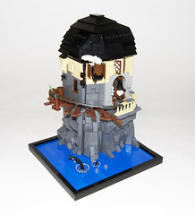 Home of the Steampunk Magician (Titolian) Tags: house home punk lego wizard medieval steam magician steampunk