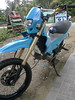 new paint (bal_0783) Tags: blue bike honda mini modified motor motard bal buug xrm