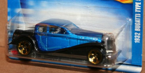 2002 Hot Wheels Highway 35 1932 Bugatti Type 50