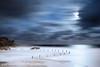 Moon Light (-yury-) Tags: ocean light sea moon seascape beach night landscape sydney wave australia luna fullmoon nsw moonlight cluds maroubra