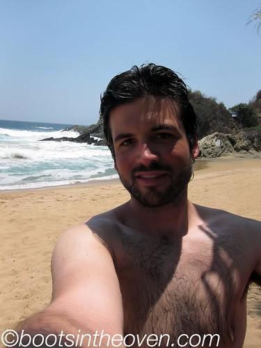 Self Portrait with Beach