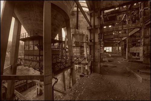Laverie de charbon de Blaye-Les-Mines 1957