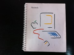 Original Macintosh user manual cover (kfury) Tags: macintosh usermanual welcometomacintosh mac128k picassomac