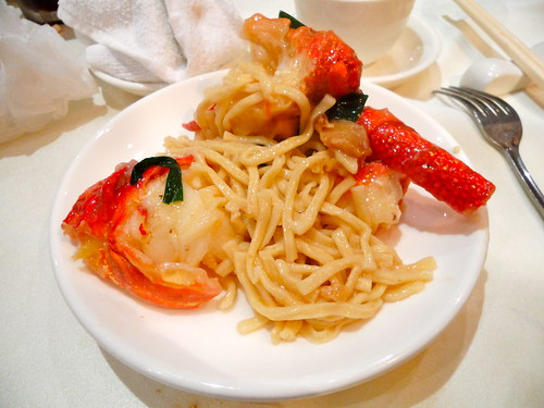 Emperor's Lobster with E Fu Noodles