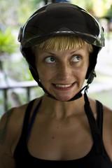 109/365 (obo-bobolina) Tags: portrait hannah helmet sp 365 selfie 365days nonnet