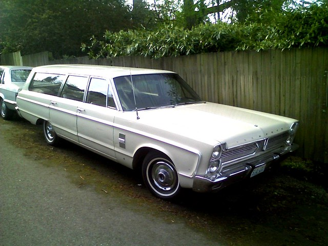 1966 Plymouth Fury Station Wagon