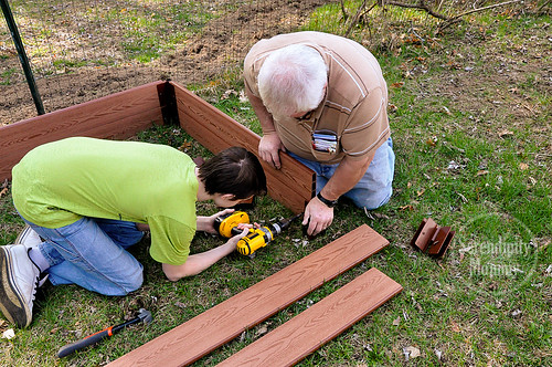 Building A Raised Bed Garden with Frame It All