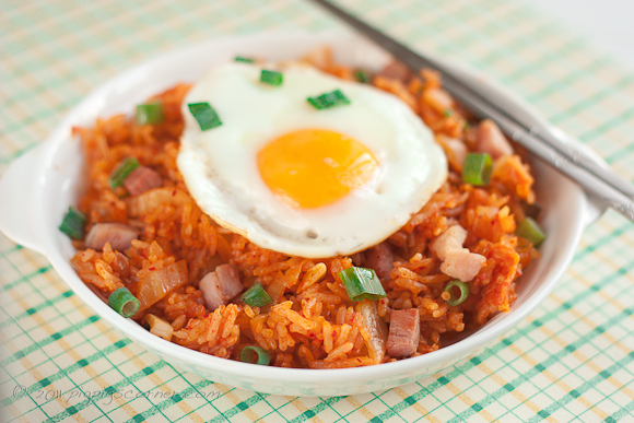 Kimchi and Gammon Fried Rice