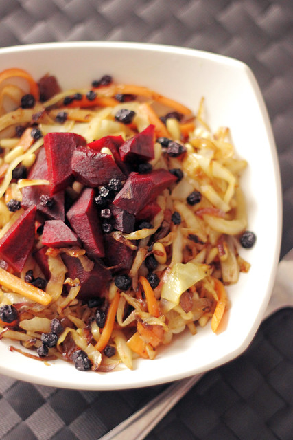 Beetroot, White Cabbage and Carrots