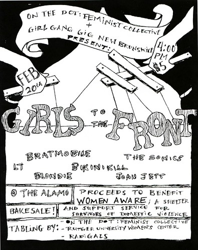 1st Annual Girls to the Front Riot Grrl Cover Show