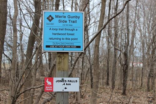 Jones Falls Mini-hike - Trailhead