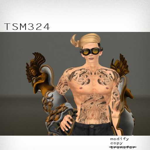 booN TSM324 hair