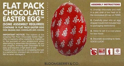Flatpack Easter egg
