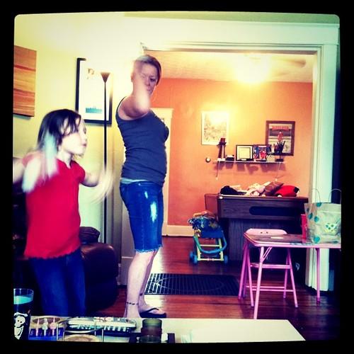 Wii dancing pt 2
