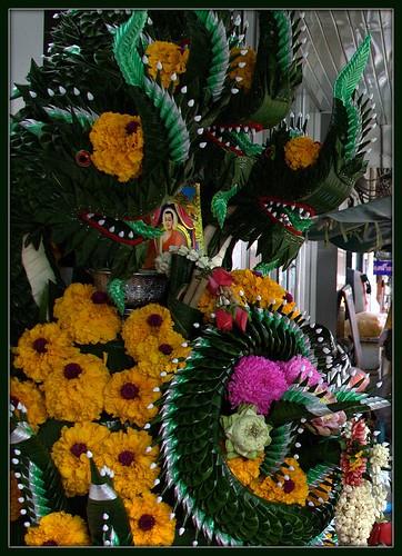 Bangkok. The flower market
