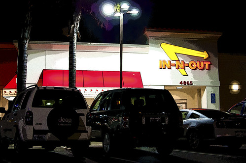 Day 115/365: Never In & Out