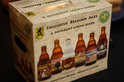 Exclusive Belgian Ales - 6 Different Living Beers