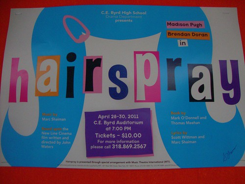 Byrd drama: Hairspray by trudeau