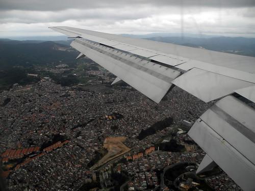 Approaching Sao Paolo