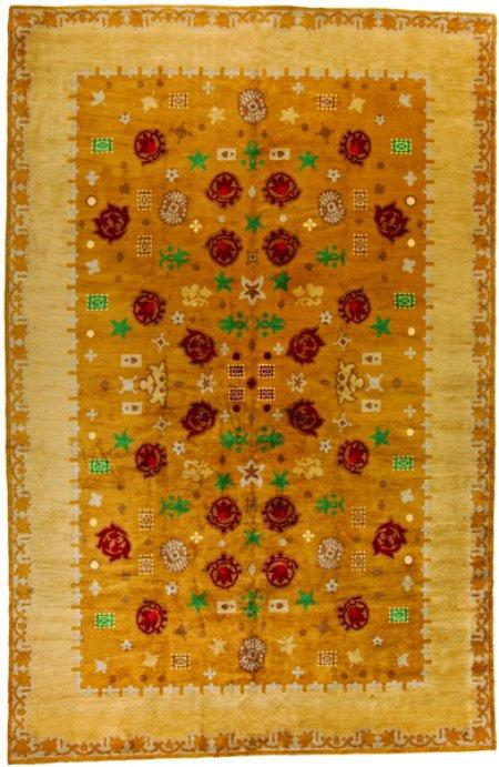 Doris Blau Rugs, Deco rug, Paile Leleu, 1950