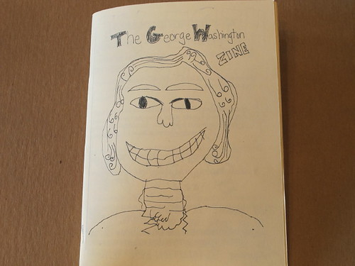 George Washington Zine -Cover