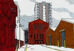 Blueprint Studios, Salford. (larosecarmine) Tags: guy art manchester artist elbow blueprint studios northern salford recording garvey