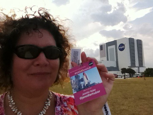 Me, NASA Tweetup, Kennedy Space Center, April 28, 2011