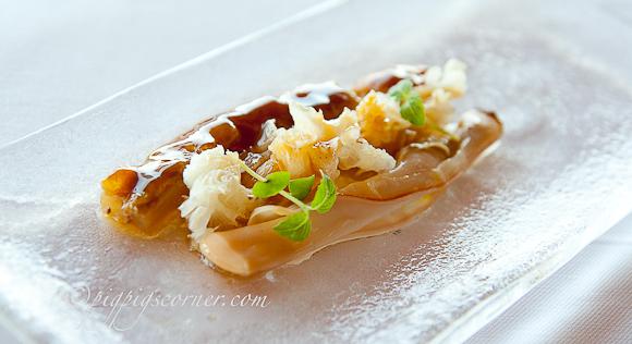 Razor clam, Akelarre, San Sebastian