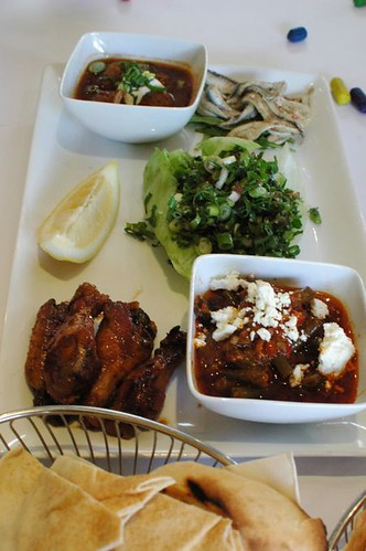 Kazbah's Mixed Mezze Plate to Share