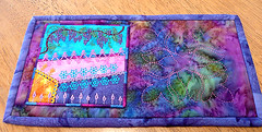 Marja's mug rug1 (lynnejean1) Tags: hearts embroidery quilting applique crazyquilting mugrug