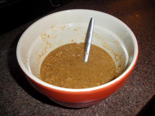 Peanut-ginger sauce